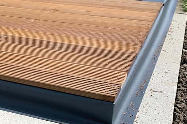 Solide aluminium vloeren